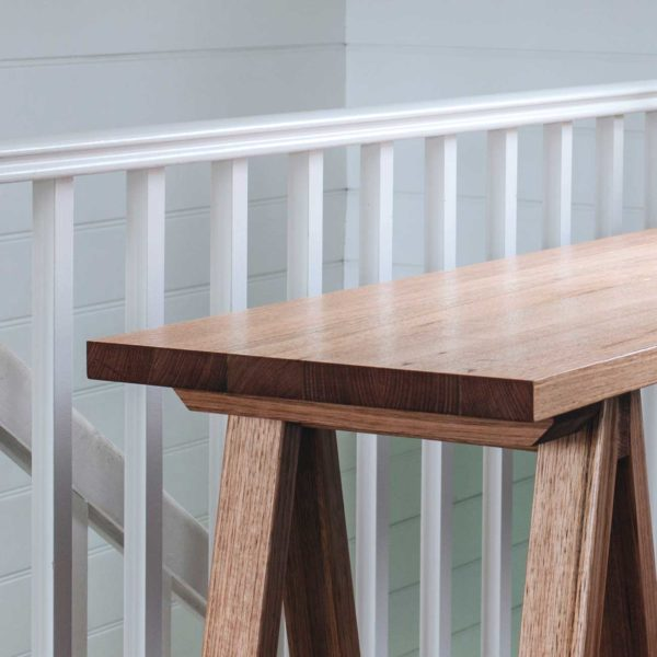 Plank and Trestle, Handmade Timber Console Table