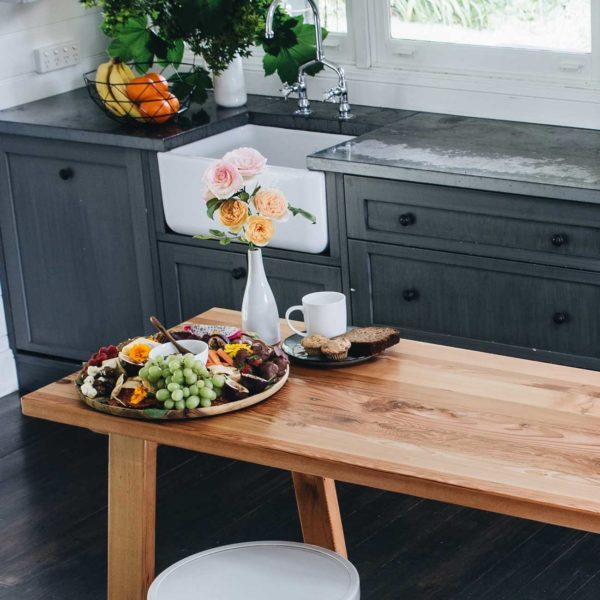 Plank and Trestle, Handmade Timber Breakfast Bar