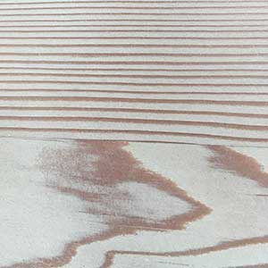 Plank and Trestle Timber Swatch, Oregon Whitewash