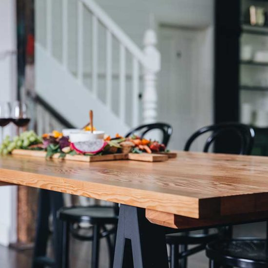 How to choose a dining table that is just right for your home, Plank and Trestle