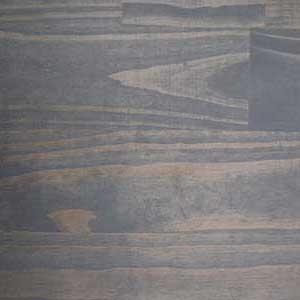 Plank and Trestle Timber Swatch, Graphite Stain